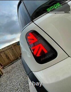 Mini Gen 1 Smoked Led Union Jack Rear Lights R50, R53 2001-04 Pre-lci