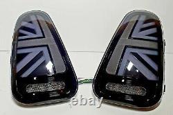 Mini Gen 1 Smoked Led Union Jack Rear Lights R52, 2004-2007 LCI