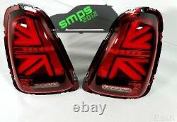 Mini Led Red Union Jack Rear Lights R56 2006 2010 Gen 2 (pre-here)