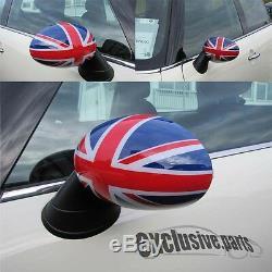 Mini One Clubman Cooper R55 R56 R57 R60 Countryman Mirror Covers Union Jack