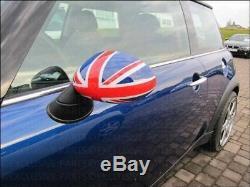 Mini One Cooper R50 R53 Rearview Mirror Union Jack 3 Colore