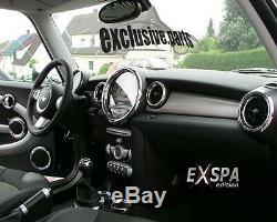 Mini One Cooper R55 R56 11/2006. Interior Chrome Set 27 Parts