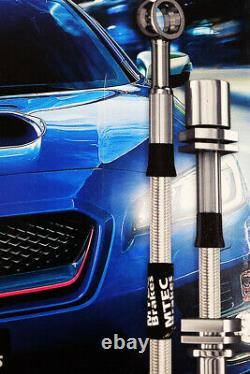 Mini One Cooper S R50 R53 03-06 Mtec Performance Steel Tressed Brake Durites