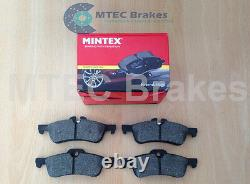 Mini R50 R53 R52 One Cooper S 01-06 Brake Discs Front Back Skates - Wear