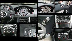 Mk1 Bmw Mini Cooper / S / One R50 R52 R53 Chrome Interior Dial Dashboard