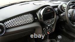 Mk3 Mini Cooper / S/one / Jcw F55 F56 F57 Damier Flag Edge Panel Cover Lhd