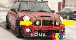New Original Mini Extra Set Headlight Spot Fire Anti Fog Black