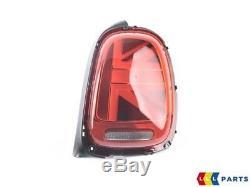 New Original Mini F55 F56 F57 Union Jack Uk Led Rear Lights Set L + R