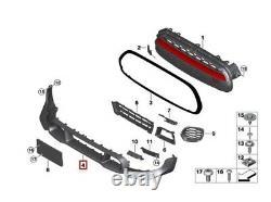 New Real Mini Gp Gp3 F56 Front Low Spoiler Pare-choc Edge 51119481329