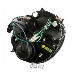 New! Spotlights Led Daytime Running Light Bmw Mini Cooper R50 R52 R53 Black Fr