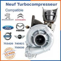 New Turbo Charger For Citroen C2 C3 C4 1.6 Hdi 110 HP 740821-0001, 753420-6