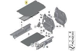 Nine On Origin Mini Cooper F55 Luggage Compartment Safe Floor Mats
