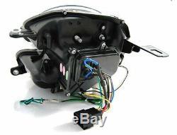 Offer Pair Headlights Mini Cooper R55 R56 R57 R58 R59 06-14 Led Light Tube Black
