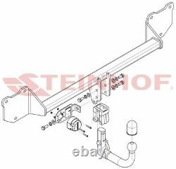Removable Hitch For Mini Countryman R60 5-door 10-16 - 7-pin Beam
