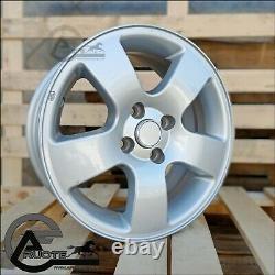 Set 4 Wheels In Alloy 6.5j 15 4x100 X Fiat Grande Punto Renault Clio Racing