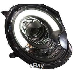 Set Of Two Main Headlights With H9 Mini Cooper Correction Of 06 To 10