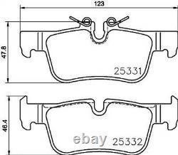 Set Pad Rear Brake Brembo P 06 094