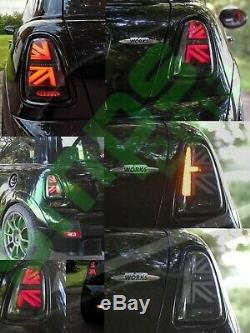 Smoked Led Mini Union Jack Tail, R56, 2006 2010 Gen 2 (pre-lci)