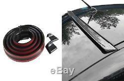 Spoiler Roof Spoiler Coverage Lip Gloss Black For Several Vehicles