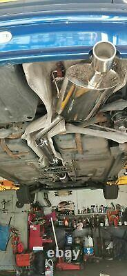 Stainless Steel Mini Cooper / One R50 Exhaust System Catalyst Course Dos