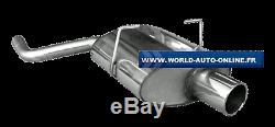 Stainless Steel Rear Silencer 1x100 Type 12 Mini One / Cooper R50 Mn020001-053