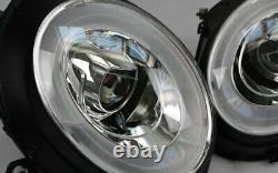 Stand Led Headlights Bmw Mini Cooper R55 Chrome Led Indicators Diurnes