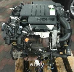 Tp Engine Citroen 1.6 Hdi 9hz Citroen Peugeot Mini Cooper 81tkm Unkomplett