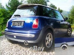 Ulter Sport Exhaust Sport Stainless Steel Mini Cooper R50 R53 One +