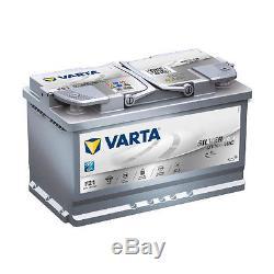 Varta F21 Dynamic Silver Agm 580 901 080 Car Battery 80ah Ready To