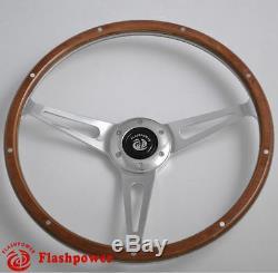 Wood Grain Wheel Classic 15 '' To Restore 100.3000 Austin Healey Sprite