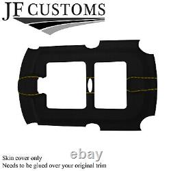 Yellow Pointluxe-suede Roof Open Cover For Bmw Mini R50 R53 01-06