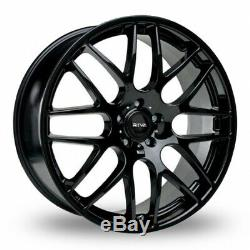 18 7.5 Noir DTM Roues Alliage pour BMW 1 3 Série E81 E82 E87 E88 F20 F21 E46