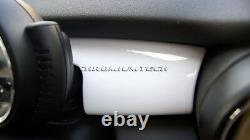 2014 Et Up MK3 Mini Cooper / S/One / Jcw F55 F56 F57 Blanc Tableau Panneau