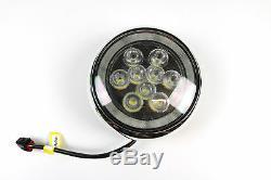 2 Chrome LED Projecteur & DRL Kit R56 Mk2 MINI COOPER S, One, Essence 2007-2010
