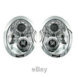 2 Feux Phare Avant Angel Eyes Bmw Mini Cooper Et One R50 R52 R53