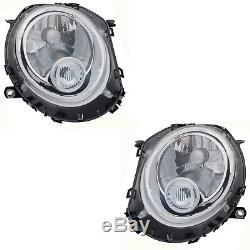 2 Phare Mini R55 R56 R57 R58 R59 10/2006-11/2013 Conducteur + Passager Bl + M