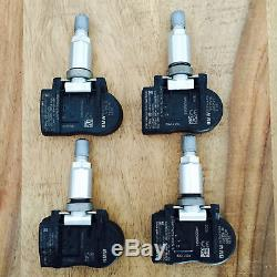 4 BMW Capteurs de Pression Pneu Rdci 433 Mhz 1 F20 3 F30 4 X5 F15 6855539 Neuf