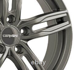 4 Jantes Carmani 14 Paul 7.5x17 ET52 5x112 HYP pour Mini Mini