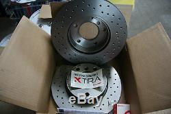 4x Brembo Xtra Disques de Frein Sport Mini R50 R52 R53 Kit pour avant et Arrière