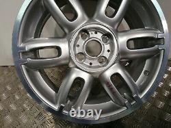 6795173 Jante Mini Cooper one R50 R53 R56 17 Neuve silver ronal OEM origine