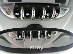Aménagement Intérieur Kit en Chrome 27tlg. Pour MINI COOPER S D R56 R55 Clubman
