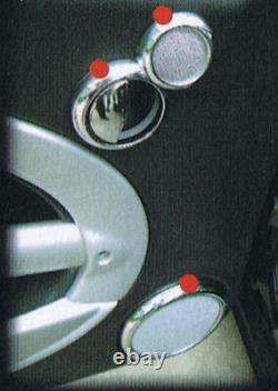 Aménagement Intérieur en Chrome Kit 26 Pièces Pour Mini One COOPER S D R50 R52