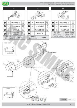 Attelage Démont 7Br relais pour Mini Countryman R60 Berline 3-5 p 10-2016 11003A