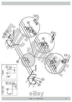 Attelage Démont pour Mini Clubman R55 Berline 3-5 portes 750 50 07-15 11002/C E1