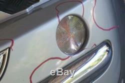 BMW Mini Cooper R50 6 avant Complet Pare-Choc Panneau Argent Pur Métallique