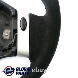 BMW Mini Cooper R50 Cooper Volant Cuir Noir Alcantara Neuf Avec 2 Rayons