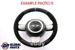 BMW Mini Cooper R50 R52 R53 Neuf en Cuir Noir / Alcantara Sport Volant 6762457