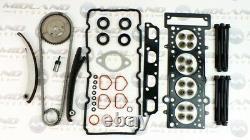 BMW Mini One R50 R52 R53 1.6 Kit Chaîne Distribution Tête Joint Set Vis W10B16A