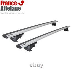 Barres de toit aluminium Thule WingBar EVO pour BMW Mini Countryman type F60 TOP