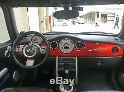 Coq Fosse Revêtement Rouge pour Mini One Cooper R50 R53 R52
